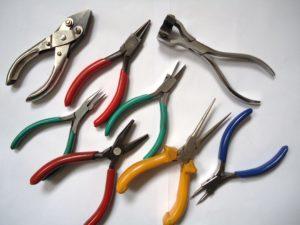 Jewellery pliers