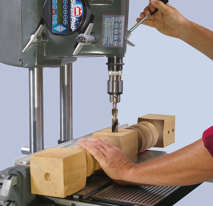 Woodworking power tools drill press