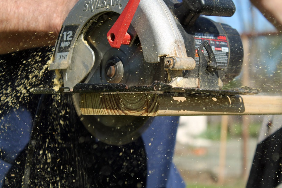 Woodworking power tools the circular saw