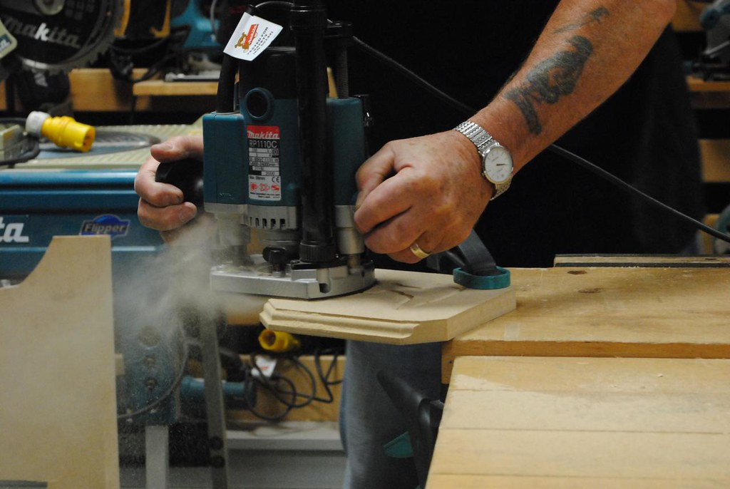 Woodworking power tools the wood router
